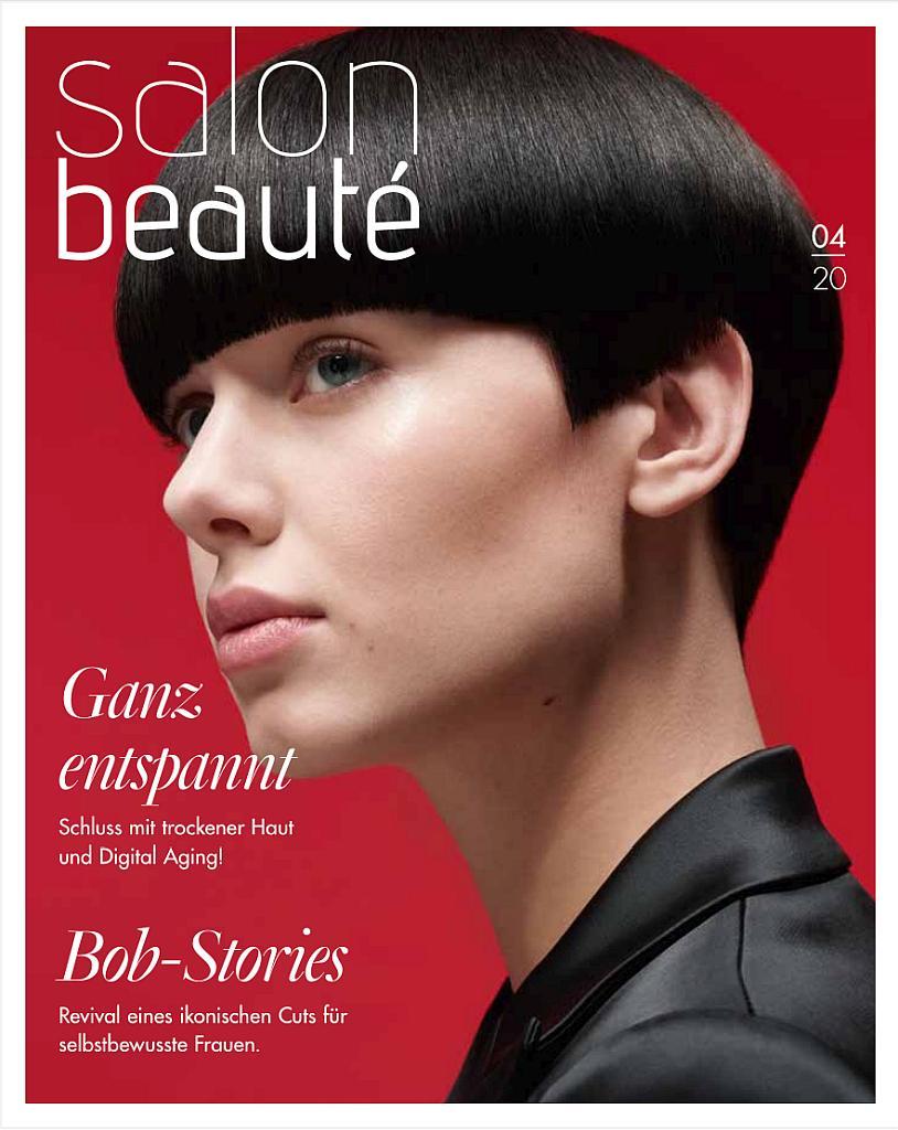 Titelseite der Salon Beauté Ausgabe 4 2020