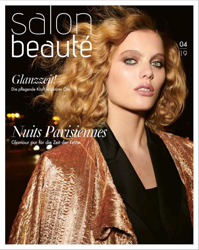 Titelseite des Magazins Salon Beaute