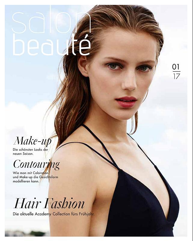 Titelseite der Zeitschrift Salon Beauté