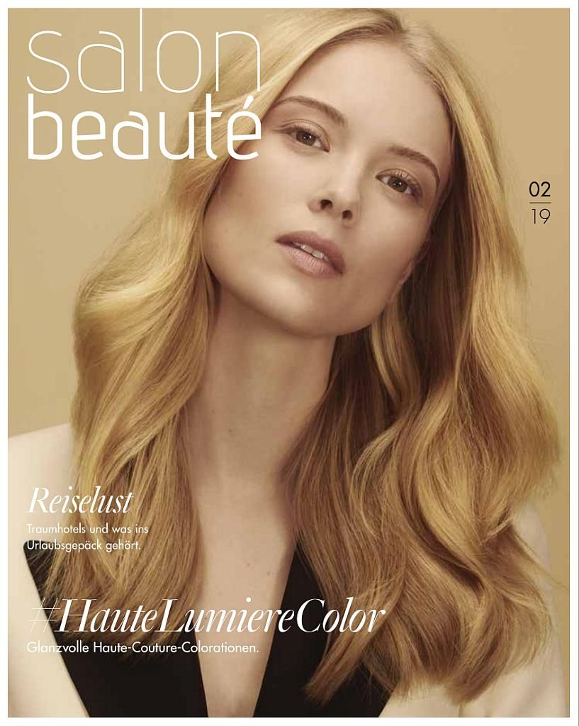 Titelseite Salon Beauté 02/2019